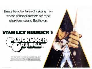 A Clockwork Orange 1971 Quad Philip Castle