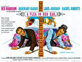 A Flea in Her Ear 1968 Quad Poster