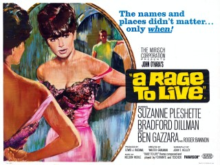 A Rage to Live 1965 Quad Poster
