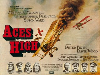 Aces High 1976 Quad Poster