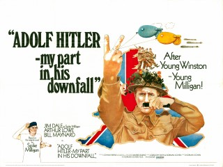Adolf Hitler My Part In His Downfall 1972 Quad Poster