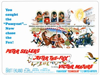 After the Fox 1966 Quad Poster