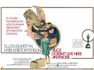 Alice Doesn't Live Here Anymore 1974 Quad Poster