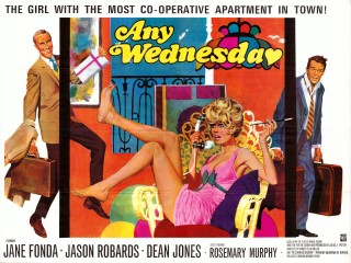 Any Wednesday 1966 Quad Poster