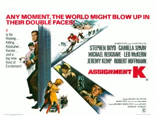 Assignment K 1968 Quad British Poster