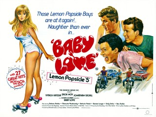 Baby Love 1984 US Lemon Popsicle V Quad Art Tom Chantrell