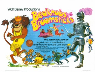 Bedknobs and Broomsticks 1971 Quad rerelease 1979
