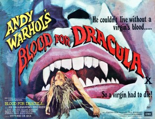 Blood For Dracula 1974 Quad Poster Art Arnaldo Putzu