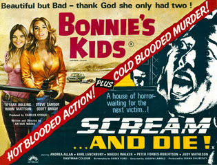 bonnies kids - scream and die movie poster