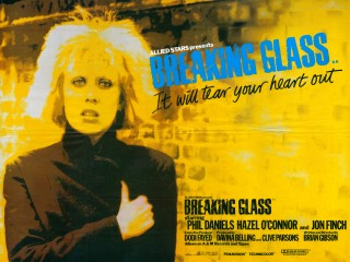 Breaking Glass 1980 Quad Poster