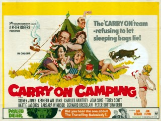 Carry on Camping 1969 Quad Poster
