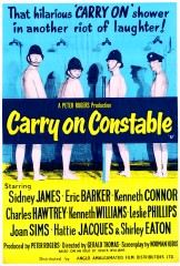 Carry on Constable 1960 1 sheet
