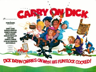 Carry On Dick 1974 Quad Poster
