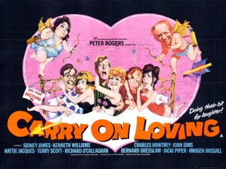 Carry on Loving 1970 Quad Renato Fratini