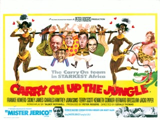 Carry On Up The Jungle 1970 Quad Poster