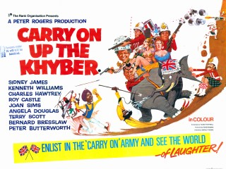 Carry On Up The Khyber 1968 Quad Poster