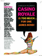 Casino Royale 1967 US 30x40 Art Robert McGinnis