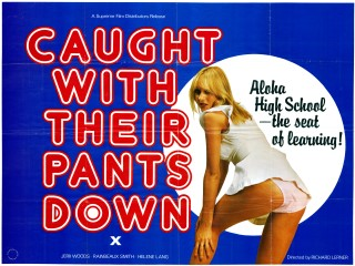 Caught With Their Pants Down 1976 Quad US Revenge of the Cheerleaders