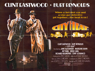 City Heat 1984 Quad Poster UK