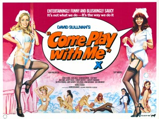 Come Play With Me 1977 Quad Poster