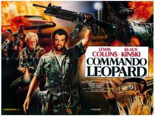 Commando Leopard 1985 Quad UK Poster