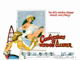 Confessions of a Window Cleaner 1974 Quad Poster