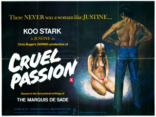 Cruel Passion 1977 Quad UK Poster