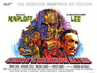 Curse of The Crimson Altar 1968 UK Quad Poster