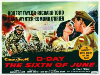 D-Day The Sixth of June 1956 Quad Poster