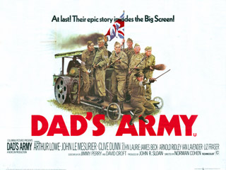 Dad's Army 1971 Quad UK Poster
