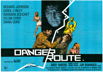Danger Route 1967 Quad English Poster