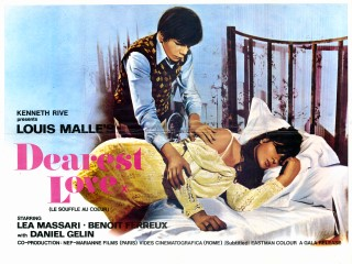 Dearest Love 1971 UK Quad Le Souffle au Coeur