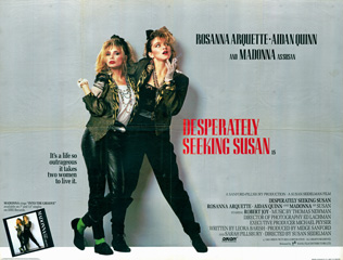 Desperately Seeking Susan 1985 Quad