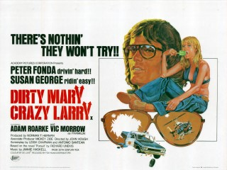Dirty Mary Crazy Larry Quad Poster