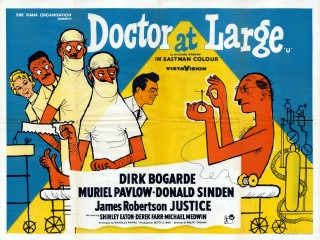 Doctor At Large 1957 Quad poster