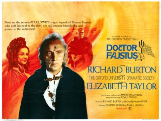 Doctor Faustus 1967 Quad Poster
