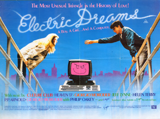 Electric Dreams 1984 Quad Uk Poster