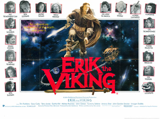 Erik the Viking UK Quad Poster
