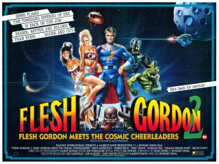 Flesh Gordon 2 1989 Quad Poster