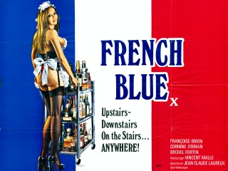 French Blue 1975 Quad Poster