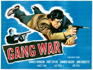 Gang War 1958 Quad Poster