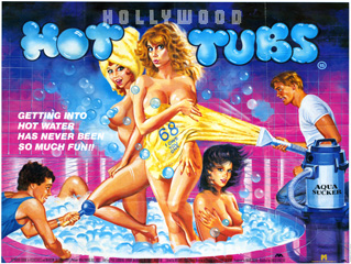 Hollywood Hot Tubs 1984 UK Quad