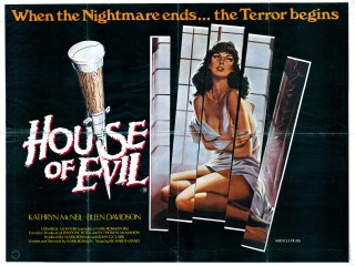 The House of Evil 1983 Quad Poster