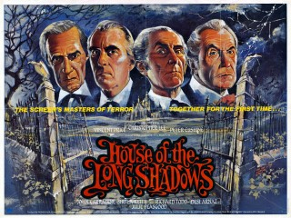 The House of the Long Shadows 1983 Quad Poster
