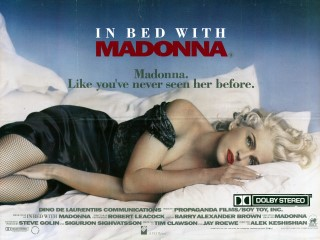 In Bed With Madonna 1991 Quad Movie Poster