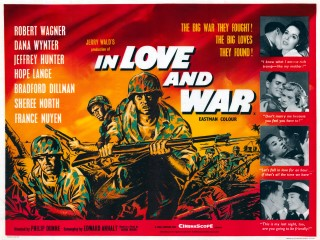 In Love and War 1958 Quad Poster