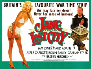 Jane And The Lost City 1987 Quad British Poster
