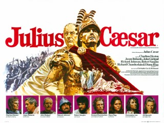 Julius Caesar 1970 Quad UK Movie Poster