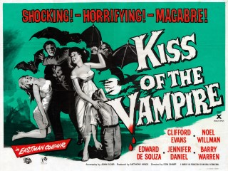 Kiss of the Vampire ( 1963 ) QuadArt: Joe Smith
