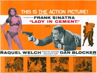 Lady In Cement1968 Quad UK Poster